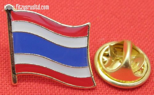 Thailand Thai Country Flag - Lapel - Hat - Cap - Tie Pin Badge - Brand New